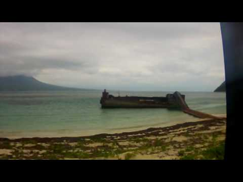 lobster barge out of water.MOV
