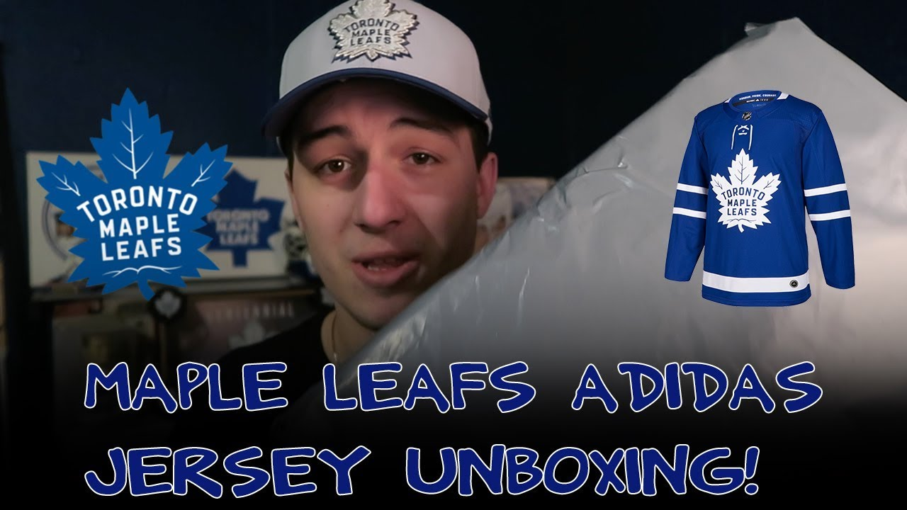Toronto Maple Leafs Adidas Jersey Unboxing and Review! - YouTube b818d7468