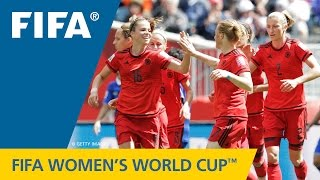 HIGHLIGHTS: Thailand v. Germany - FIFA Women's World Cup 2015