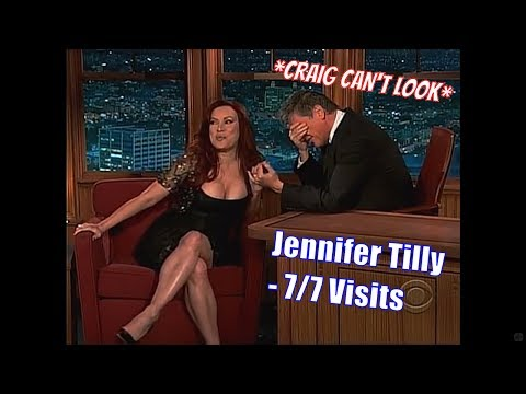 Jennifer Tilly  Good At Reading Body Language   77 Visits In Chronological Order LQHQ
