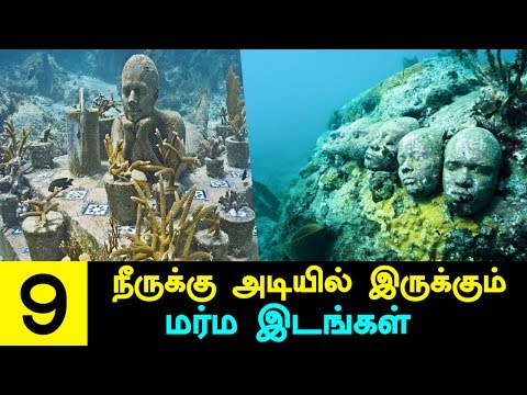 9 Mysterious Things Underwater that Nobody Can Explain