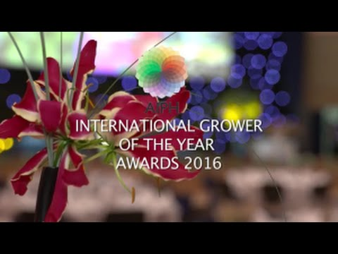 AIPH International Grower of the Year Awards 2016