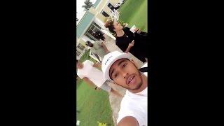 Sore Legs! | Lewis Hamilton Snapchat Vlog