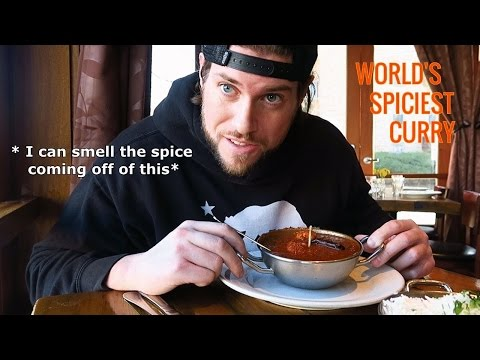 Eating The SPICIEST Curry In The World Doesn't Go As Planned | L.A. BEAST