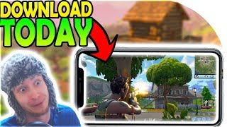 Fortnite Mobile DOWNLOAD TODAY + FREE CODES! - Fortnite Battle Royale Android / iOS Sign-Up