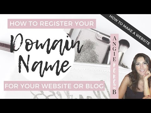 How To Get A Domain Name For Your Website from YouTube · Duration:  3 minutes 7 seconds