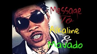 Vybz Kartel Take Lead is a Message to Alkaline & Mavado November 2016 REVIEW