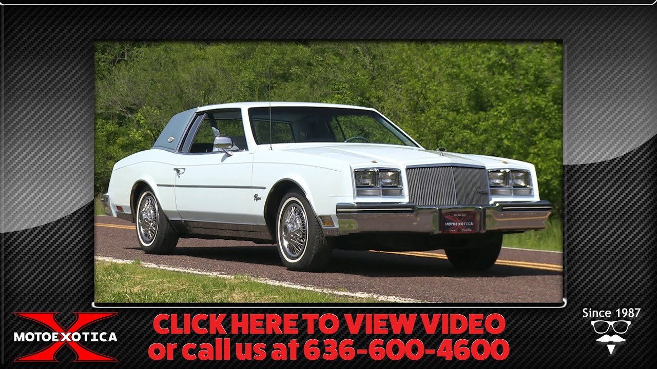 1979 Buick Riviera Sold Youtube