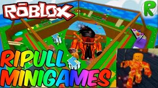 PIZZA MAN'S REVENGE | Roblox Ripull Minigames with Leoenderawesome267