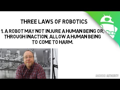 Why the three laws of robotics won't save us from Google's AI - Gary explains