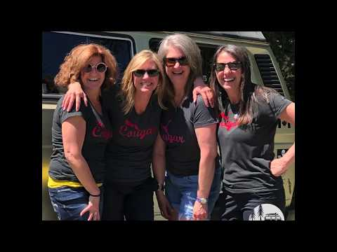 GIRLS TRIP! justgo camper van rentals Vancouver Island Nanaimo British Columbia - CANADA