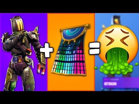 I TRIED Making The Worst POSSIBLE COMBOS In Fortnite... (surprisingly Hard Challenge)
