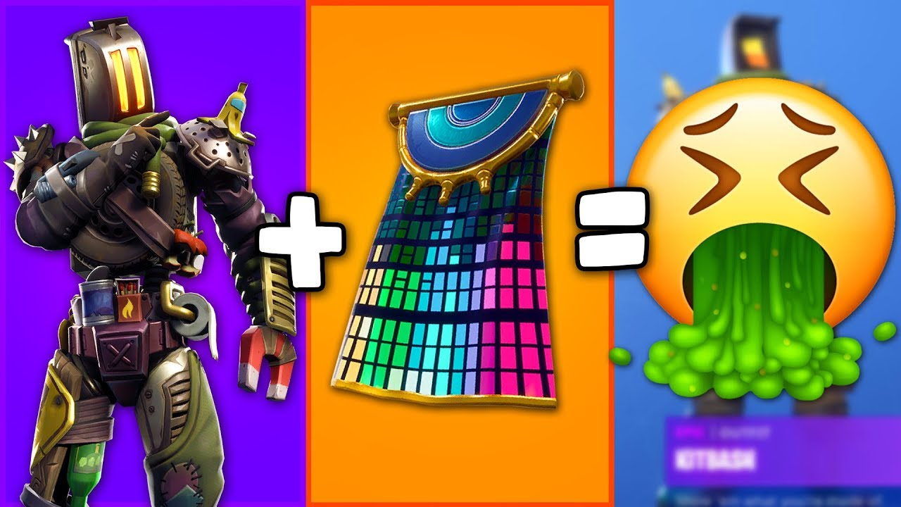 I Tried Making The Worst Possible Combos In Fortnite