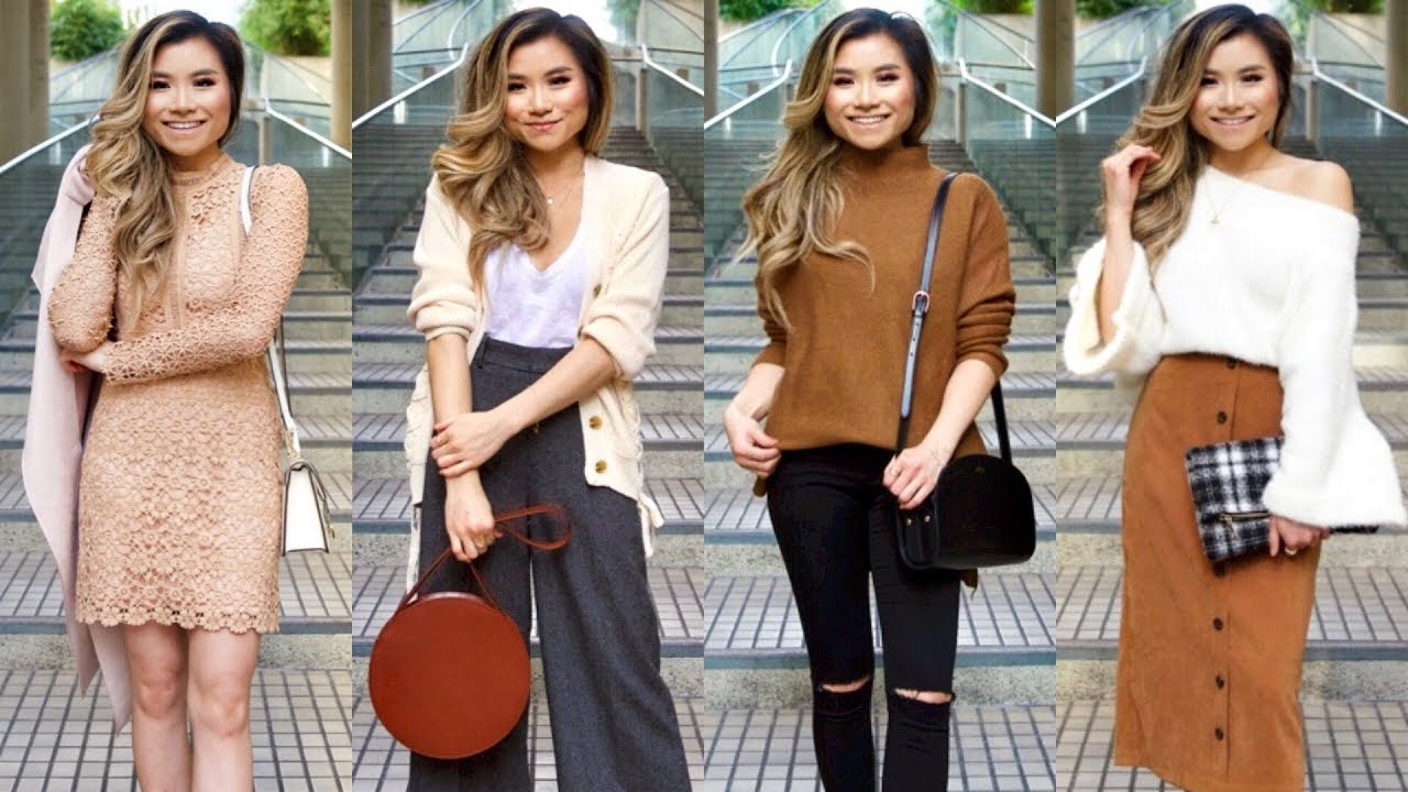 Fall Lookbook with Chicwish | Fall Outfits Chicwish Clothing Haul | Miss Louie