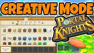 Portal Knights Creative Mode Review (Xbox One & PS4)