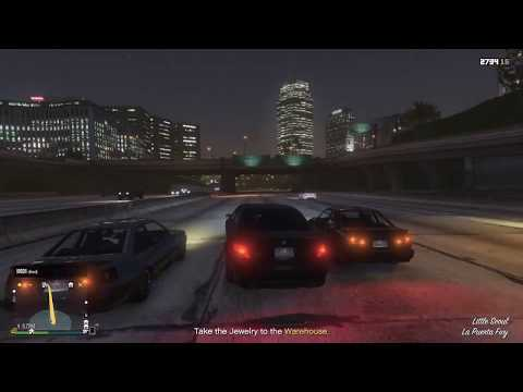 GTA V - general CEO busywork in dat new AMG V12 doe - WAYNE GROW INDUSTRIES RP LP 54