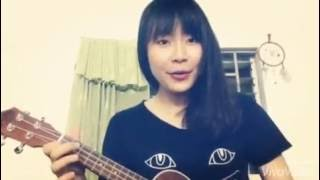 Ngồi hát ca bềnh bồng ukulele cover - By Thương Hâm