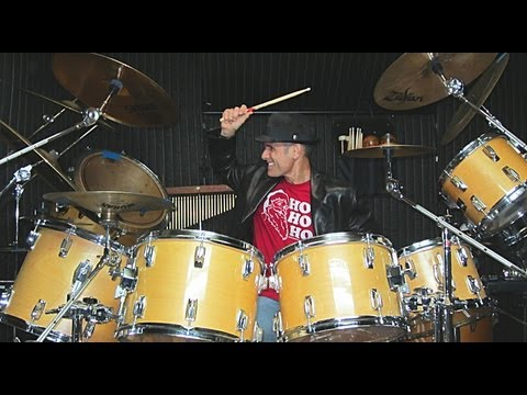 "Gino Vannelli ""Wheels Of Life"" Drum Cover by Alan Badia on TAMA Superstar Drums"