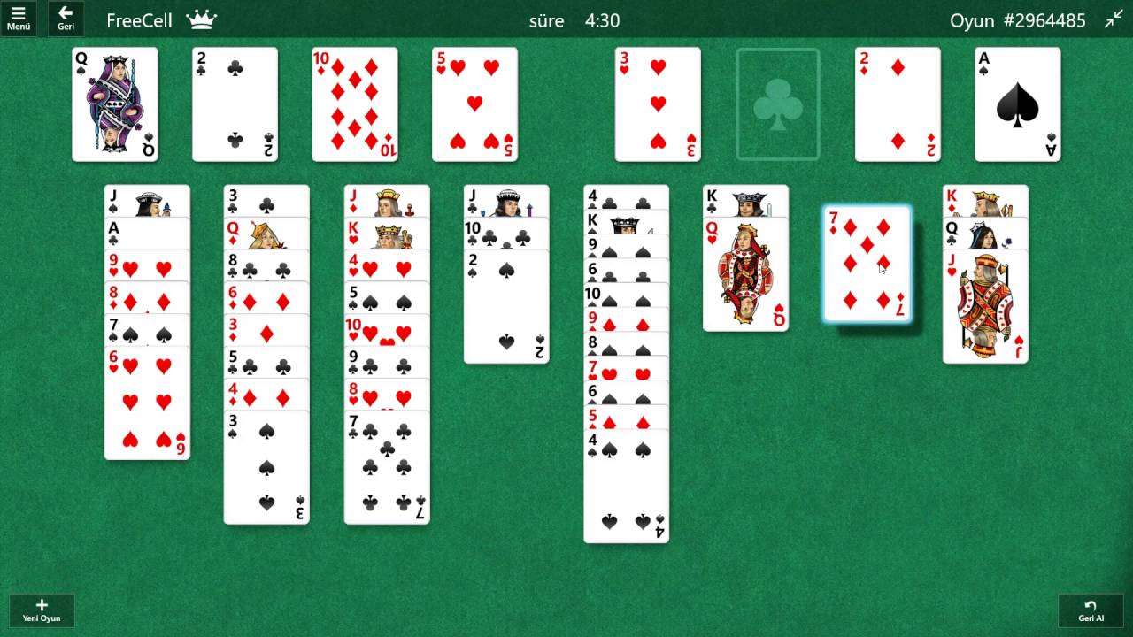 Freecell Solitär Deutsch