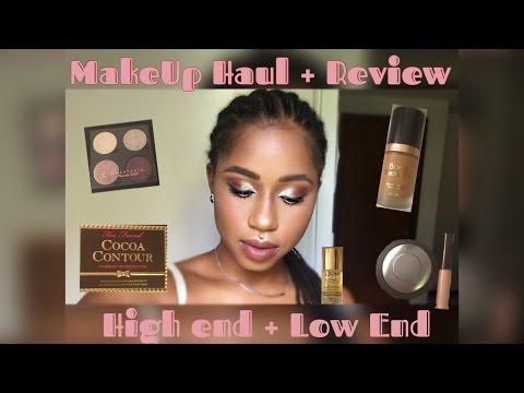 MAKEUP HAUL | GRWM + PRODUCT REVIEW