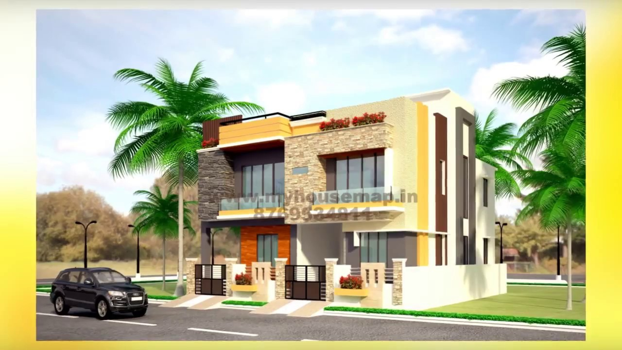 Home design d front elevation concepts home design best for Design your own house online in india