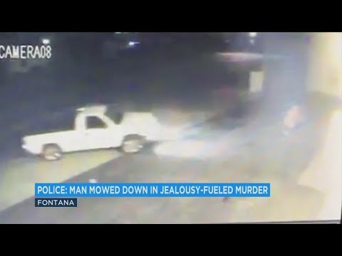 Surveillance video shows moments before Fontana jealousy-fueled murder - ABC7