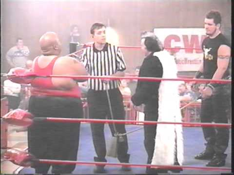 Cold Fury #1 - Ali Muhammed vs Big Mike Studd in a Special BullRope Match