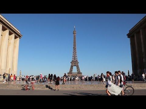 Paris, France : Trocadero Square