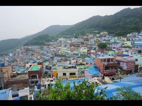 Gamcheon Culture Village Busan South Korea Youtube