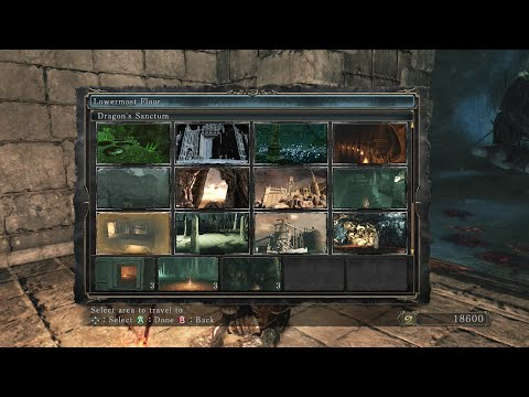 Dark Souls 2 - Crown of the Old Iron King - All Bonfire Locations  