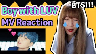 【Reaction】BTS (방탄소년단) - Boy With Luv (작은 것들을 위한 시) feat. Halsey' MV (with Eng Sub)|Tungzzang