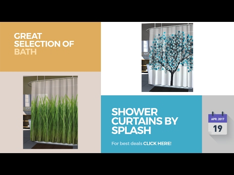 Shower Curtains By Splash Great Selection Of Bath Products