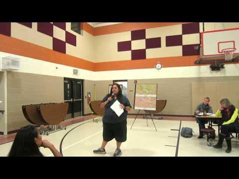 BLM Scoping Meeting at Lybrook Elementary school