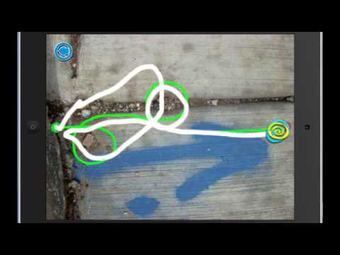 Best Free iPad Apps Chalk Walk - YouTube