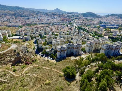 Outskirts of Malaga Drone Footage
