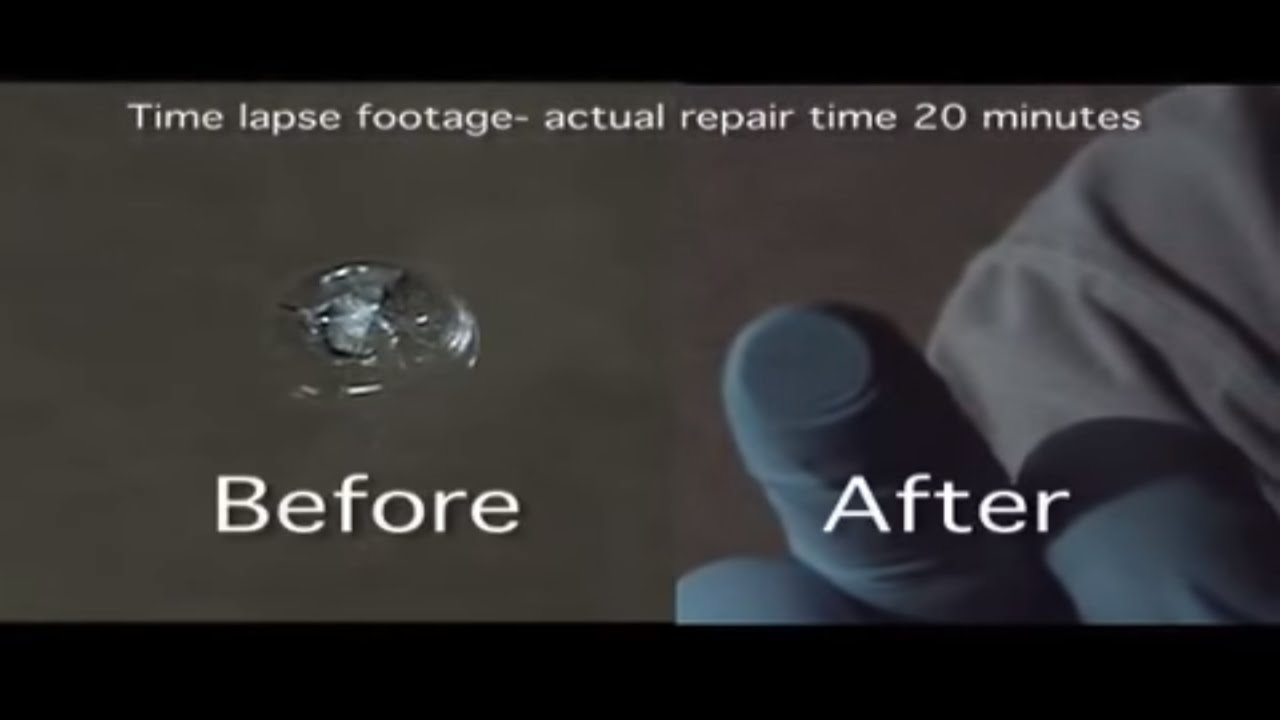 Rock Chip Repair >> How To Windshield Repair Combination Rock Chip Tutorial 4