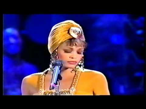 Whitney Houston Concert for South Africa 1994 - I Have Nothing (HD)