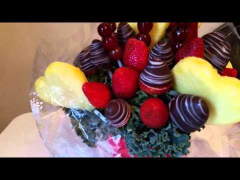 Edible Arrangements for Valentines day
