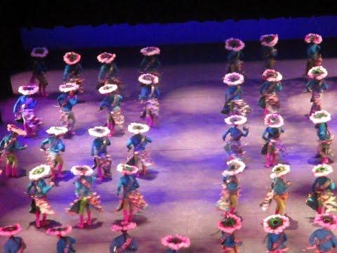 Ballet folklorique présenté au Palais des Beaux Arts à Mexico