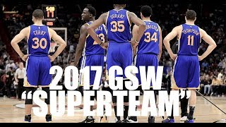 "Golden State Warriors 2017 ""See what I"