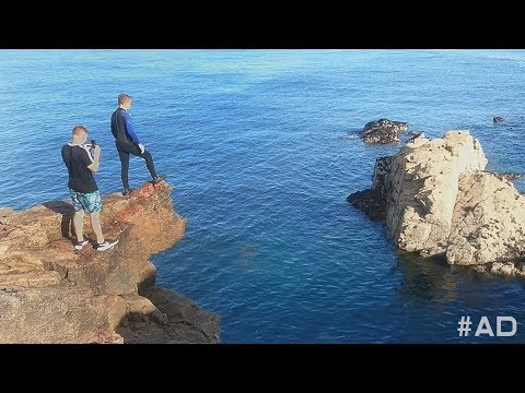TERRIFYING Cliff Jump Forfeit in The ChrisMD Test With My Family 2