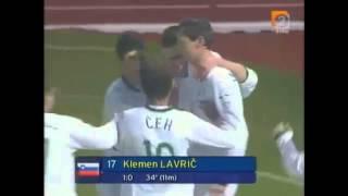 Slovenia 1:0 Estonia 2007