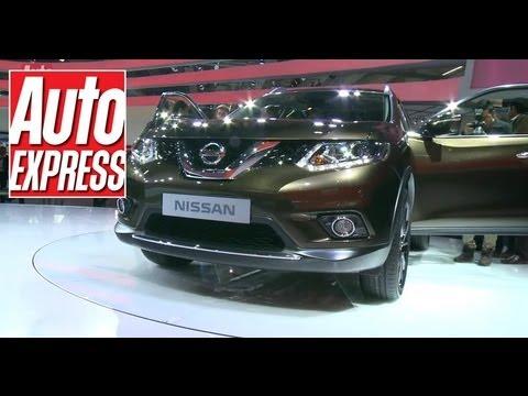 Nissan X-Trail at Frankfurt Motor Show 2013