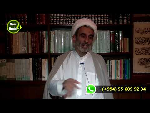 Hacı Əhliman Cümə söhbətləri  02022018