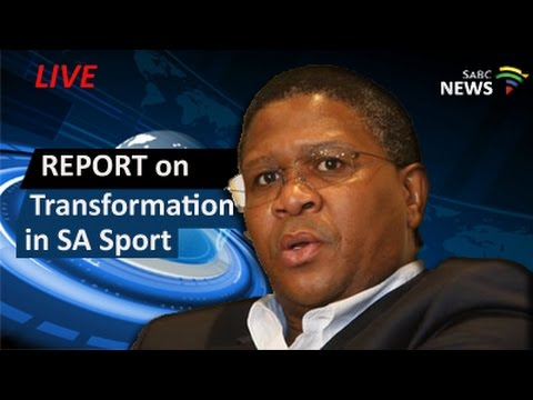 Report release on transformation in South African sport