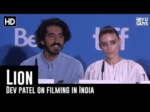 Dev Patel on Filming in India - Lion Press Conference (TIFF 2016)