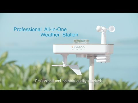 Oregon Scientific | Professional All-in-one Weather Station | WMR500