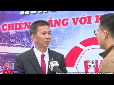HLV Hoàng Anh Tuấn - trưởng ban huấn luyện trung tâm PVF