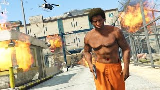 GTA 5 Mods - PRISON MOD #4! GTA 5 Prison Break & Prison Riots Mod Gameplay! (GTA 5 Mods Gameplay)