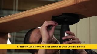 SunBriteTV - Ceiling Mount Installation